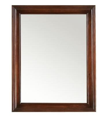 606124-F11 24 inch  x 32 inch  Traditional Style Wood Framed Mirror: Colonial