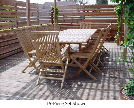 SET-32A 13-Piece Dining Set with 117