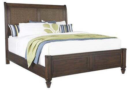 Coronado B130-34-35-78 Queen Panel Bed with Headboard  Footboard and Side Rails in