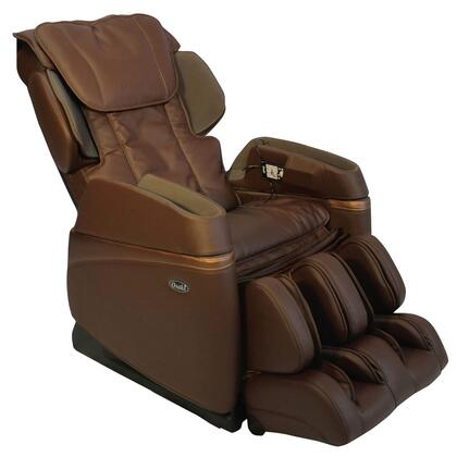 OS-3700 BROWN Massage Chair with Arm Air Massagers  4 Manual Massage Modes and Dual Massages  Foot Roller Massage and Heat on Lumbar in