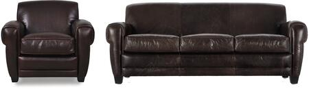 Havana Collection 61403E3066SC 2-Piece Living Room Set with Sofa and Chair in Classic