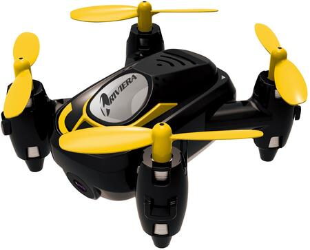 RIV-FX21BLK RC Micro Quad Wi-Fi Drone with 3D App  Built in Camera and Built in LED Lights in