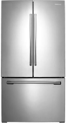 "RF261BEAESR 36"" Energy Star Rated French Door Refrigerator with 25.5 cu. ft. Capacity  Internal Filtered Water  Twin Cooling Plus  LED Lighting  Power Freeze &"