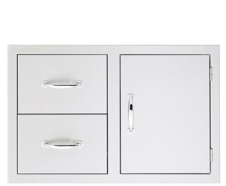 SSDC1 Door/ 2- Drawer Combo  in Stainless
