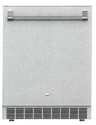 """ERS24 24"""" Outdoor Refrigerator  Solid Reversible Door with"""