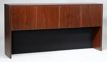 """N140-M 66"""" Four Door Hutch with 3mm PVC Edge Banding in"""