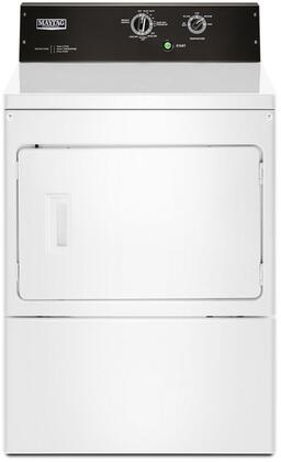 MEDP575GW Commercial Grade  Electric Dryer with 7.4 cu. ft. Capacity  Premium Motor  Automatic Dry  Wrinkle Control Cycle  and Drum Light  in