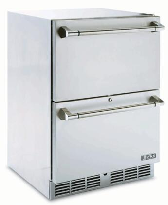 "L24DWR 24"" Built-In Two Drawer Outdoor Refrigerator in Stainless"