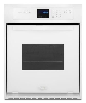 Whirlpool WOS11EM4EW 24 Electric Single Wall Oven with 3.1 cu. ft. Capacity AccuBake System