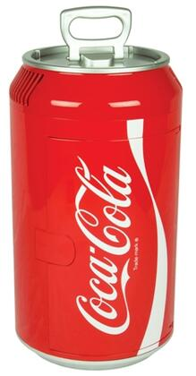 CC06-G Mini Coca Cola Can Cooler with Sliding shelf and Self-locking recessed door