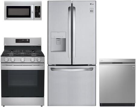 4 piece Kitchen Appliance Package with LFDS22520S 30