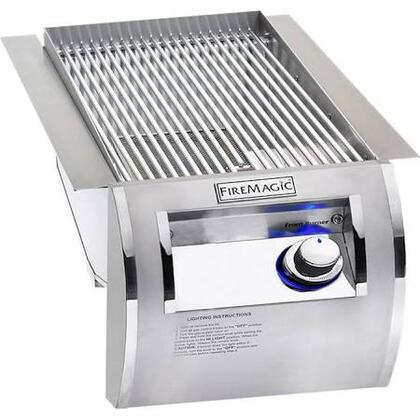 Echelon Diamond 32874-1P Propane Single Searing Burner with Push Button Electronic Ignition  Blue LED Backlit Safety Knobs and Stainless Steel