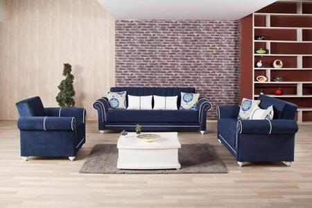 Royal Home Rohosblsacrdb Package Containing Sofa Bed  Loveseat And Armchair With Pillows  Nail Head Accents  Turned Feet  Sliders And Rolled Arms In Riva Dark