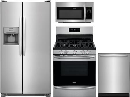 4-Piece Stainless Steel Kitchen Package with FFSS2615TS