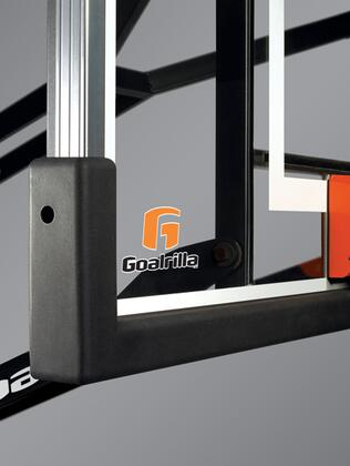 B2618 Universal Weather Proof  Pro-Style 54 inch   60 inch  and 70 inch  Goalrilla System Backboard