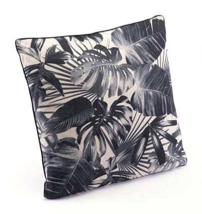 A11094 Black Jungle Pillow Black &