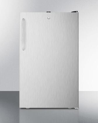 FF521BLBI7SSTB 20 inch  Commercially Listed Built-in Undercounter All-refrigerator with 4.1 cu.ft. Capacity  Auto Defrost  Door Lock and Adjustable Thermostat: