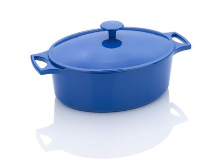 670041050 Michelle B. 5.5-Quart Oval Dutch Oven With Lid In