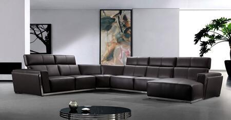 Divani Casa Tempo Collection VG2T0730-BRN 165