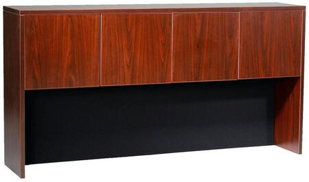 """N144-M 71"""" Four Door Hutch with 3mm Edge Banding in"""