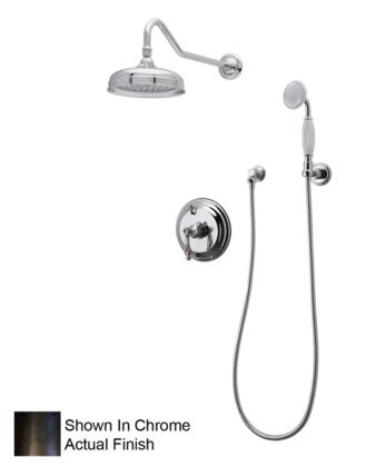 F91SOB Pressure Balanced Faucet with Single Lever Handle and Shower Head Shutoff in