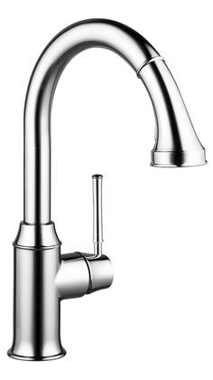 4215000 HG Talis C Higharc Single Hole Kitchen Faucet W/Pull Down 2