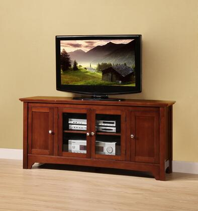 W52C4DOWB 52 Brown Wood TV Stand