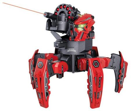 RIV-901R RC Space Warrior battle Robot w/ 2.4ghz Remote Control  Laser Pointer and Custom Decal Pack in