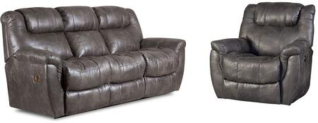 Montgomery Collection 216430314SR 2-Piece Living Room Set with Sofa and Recliner in Padre
