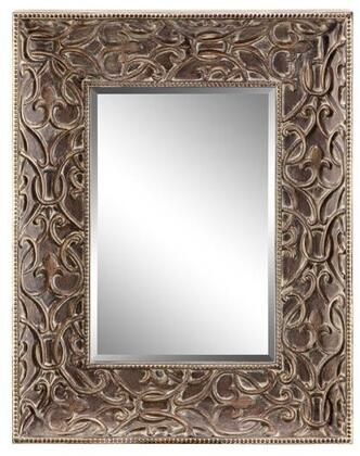 Healey Manor Collection 13457 76 inch  Scroll Patterned Frame  Rectangular Shape and Bead Border in