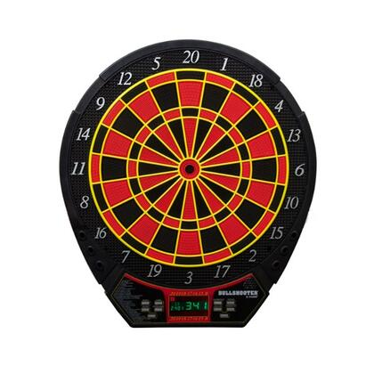 EDB400 Voyager 15.5 inch  Electronic Dartboard with Six Soft Tip Darts  Extra Tips  Mounting Hardware  Game Instructions  and Operating