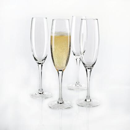 07040404 Fusion Classic Champagne Flutes(Set of