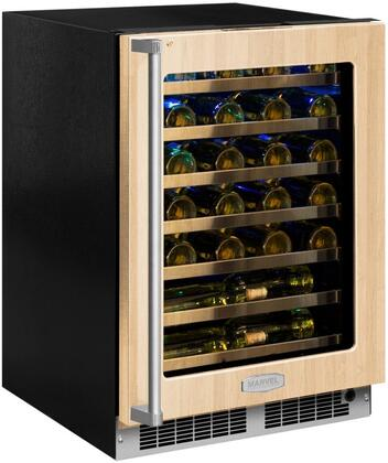MP24WSF5RP 24 inch  Marvel Professional High-Efficiency Single Zone Wine Refrigerator with Dynamic Cooling Technology  Vibration Neutralization System  Thermal
