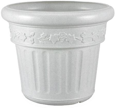 00216 Decorative Planter With Polyethylene Resin Construction  High Density Construction  In