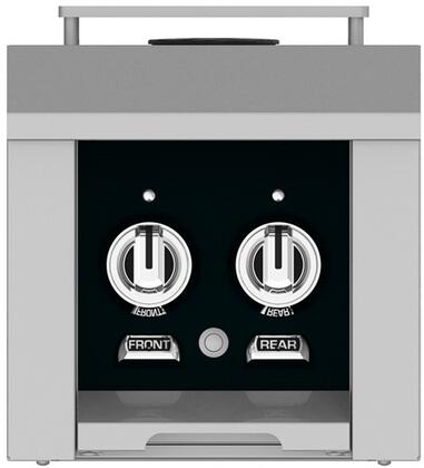 AGB122LPBK 12 inch  Built-In Liquid Propane Double Side Burners with 30 000 BTU Total Heat Output  in Stealth
