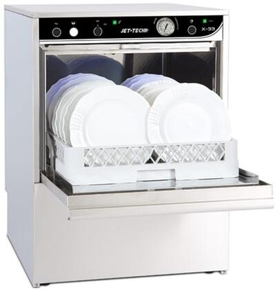 X33 Low-Temp Undercounter Dishwasher with 37 Racks of Hourly Cleaning  140 Degrees F Wash Temperature  in Stainless