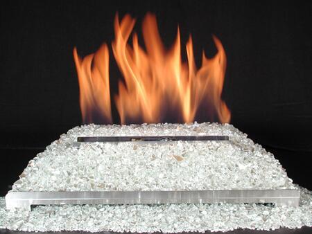 DF-GM30-PL 15 Pound Fireplace Glass: