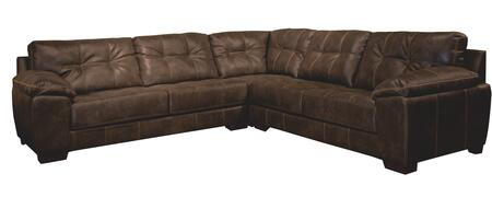 Hudson Collection 4396-63-59-73-1152-09/1252-09 128 3-piece Sectional With Left Arm Facing Sofa  Corner And Right Arm Facing Sofa In