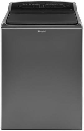 Whirlpool 4.8 Cu. Ft. 27-Cycle Top-Loading Washer Chrome Shadow WTW7500GC