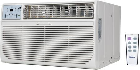 "ITAH-08KR 24"" Cooling and Heating Through the Wall Air Conditioner with 8000 Cooling BTU and 4200 Heating BTU Whisper Quiet Technology and Remote Control in"