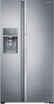 "RH29H9000SR 36"" Side-by-Side Refrigerator with 29 cu. ft. Capacity  Food ShowCase Design  Metal Cooling  High-Efficiency LED Lighting and Automatic In-Door Ice"