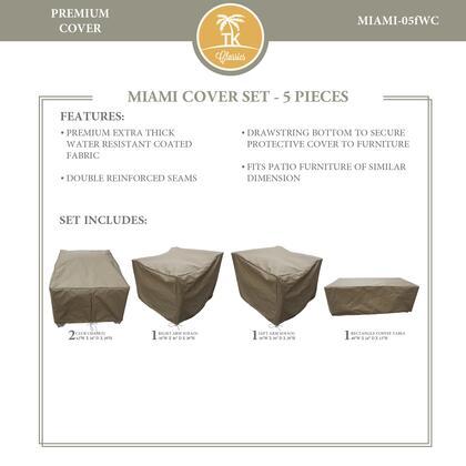 MIAMI-05FWC Protective Cover Set for Miami-05f Patio