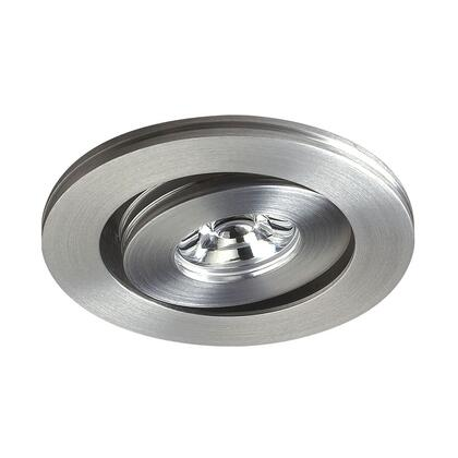 A736DL/29 Alpha Collection 1 Light Multi-Directional LED Button In Brushed