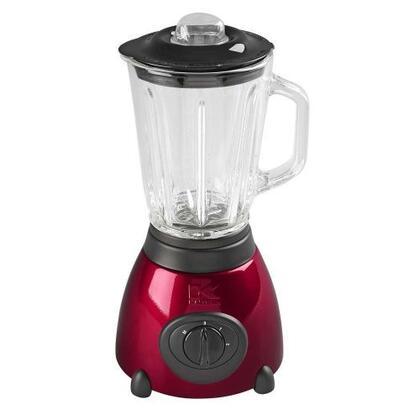 BL-16911 500-Watt 2-Speed Countertop Blender with 50-Ounce Glass Jar  Metallic Red