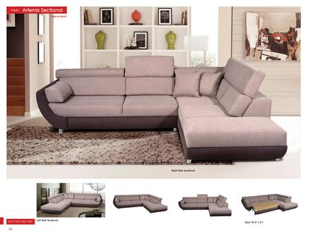 p8198 Artemis Sectional  Sofa Beds  Euro