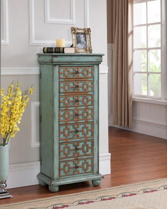 Click here for 67415 46 Jewelry Armoire with 7 Drawers  Bun Feet... prices