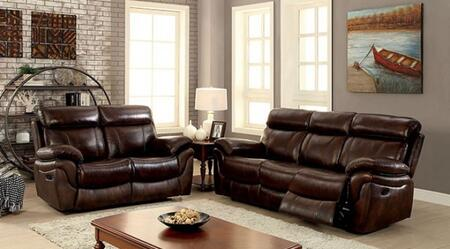 Kinsley Collection CM6983-SL 2-Piece Living Room Set with Motion Sofa and Motion Loveseat in