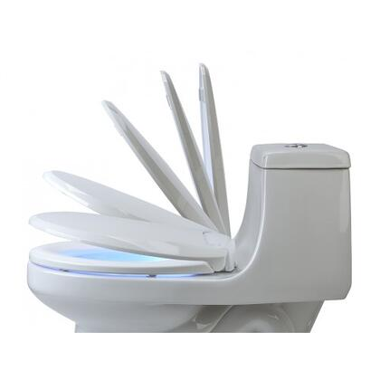 L60-RW LumaWarm Heated Nightlight Toilet Seat-Round