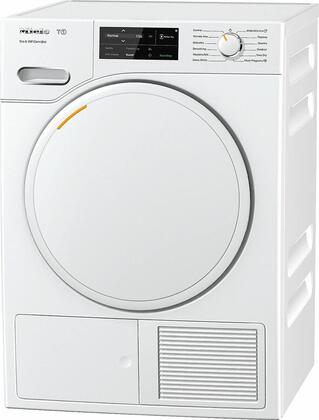 TWF160WP 24 inch  Heat Pump Electric Dryer with 4.026 cu. ft. Capacity  Convertible Door Hinge  Drum Lighting  and Wi-Fi Conn@ct  in