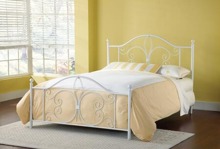 1687BFR Ruby Bed Set - Full - w/Rails  Textured
